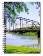 Sitting In Fort Benton Spiral Notebook