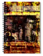 Sitting In Shade Spiral Notebook