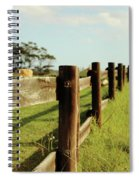 Sitting On The Fence Spiral Notebook