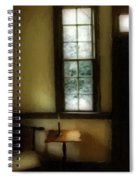 Sitting Room Spring Rain Spiral Notebook