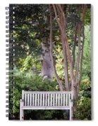Sitting Under The Tree Spiral Notebook