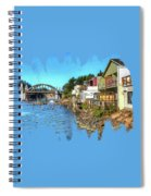 Gorgeous Siuslaw Riverfront Spiral Notebook