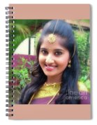 Siva's One And Only Baby Nisha Spiral Notebook