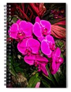Six Flowers Spiral Notebook