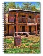 Six Gun Saloon Spiral Notebook