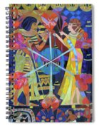 Six Phases Of The Eclipse Of The Heart Spiral Notebook