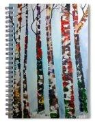 Six Tall Trees Spiral Notebook