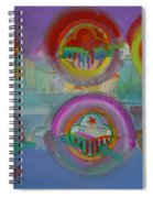 Six Visions Of Heaven Spiral Notebook