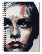 Sixties Sixties Sixties Twiggy Spiral Notebook
