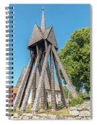 Sjosas Old Church Spiral Notebook