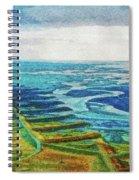 Skaftafell Floodplain Spiral Notebook