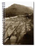Skaguway, Alaska View From Hill Over Looking 1898 Spiral Notebook