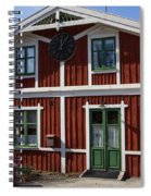 Skansen Building Spiral Notebook