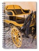 Skansen Carriage Spiral Notebook