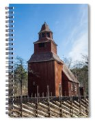 Skansen Church Spiral Notebook