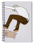 Skateboarding Spiral Notebook