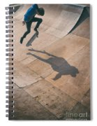 Skater Boy 001 Spiral Notebook