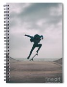 Skater Boy 004 Spiral Notebook