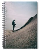 Skater Boy 006 Spiral Notebook