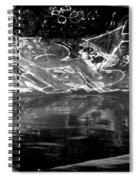 Skating Spiral Notebook