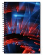 Skc 0271 Color Abstract  Spiral Notebook