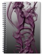 Skeletal Flow Spiral Notebook