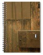 Skeleton Key Hole Spiral Notebook