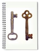 Skeleton Keys Spiral Notebook