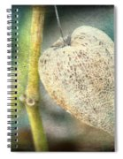 Skeleton Physalis Spiral Notebook