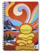 Skellig Spiral Notebook