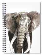 Sketch Elephant Spiral Notebook