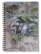 Sketch For Ogwen Painting 2 Spiral Notebook