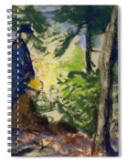 Sketchers In The Woods Spiral Notebook