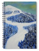 Ski Dream Spiral Notebook