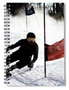 Ski Racer 2 Spiral Notebook