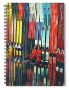 Ski Sun Valley Spiral Notebook