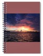 Skies Spiral Notebook