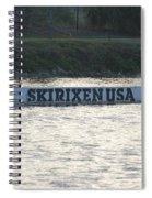 Skirixen Usa Spiral Notebook