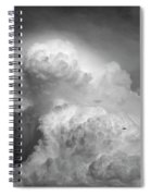 Skirting The Storm Spiral Notebook