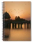 Skn 1372 Sunrise Flight Spiral Notebook