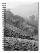 Skn 6521 Nature's Bounty B/w Spiral Notebook