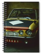 Skoda 110r Coupe Spiral Notebook