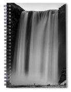 Skogafoss Iceland Spiral Notebook