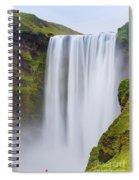 Skogafoss - Iceland Spiral Notebook