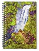 Skogafoss Waterfall #10 Spiral Notebook