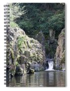 Skryje Waterfall And Pond Spiral Notebook