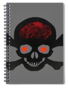 Skull And Bones Spiral Notebook