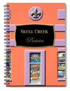 Skull Creek Pastries Spiral Notebook