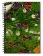 Skull Fish Spiral Notebook