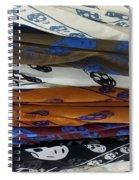 Skullscarfs Spiral Notebook